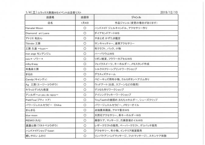 2020年1月4日(土)WS参加者一覧-1
